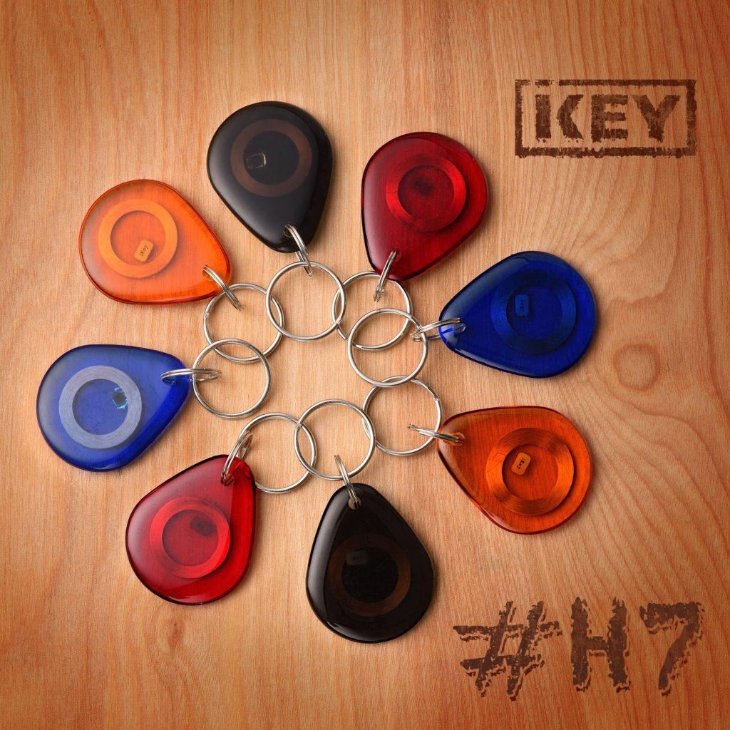 Домофоные ключи H7